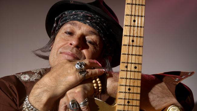Terry ASerio as Keith Richards in A Riff on Keef- The Human Myth- Picture Chris Pavlich